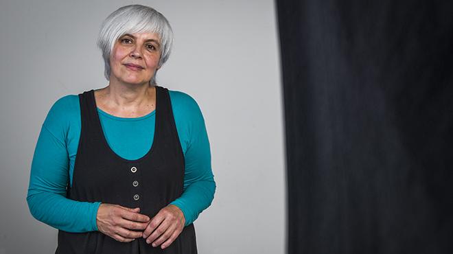 Dolors Sabater: 'Badalona ya no es lepenista y ahora defiende los derechos humanos'.