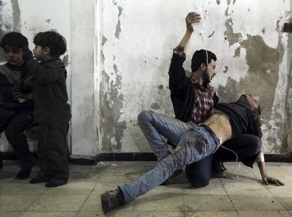 Siria: 470.000 muertos en cinco años