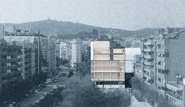 El nuevo edificio de Gal·la Placídia homenajeará a la feria Caspolino