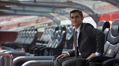 La presentació d'Ernesto Valverde com a entrenador del Barça, en directe