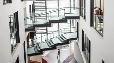 El pati del darrere de la Boqueria reneix amb la nova Escola Massana