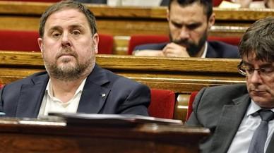 Puigdemont se plantea cambios en el Govern para blindar el 1-O
