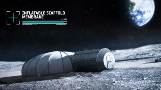 Europa vol construir una base permanent a la Lluna