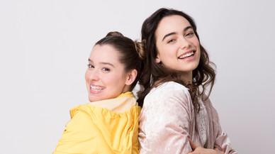 Lucía Madrigal (Coco) y Teresa Peiroten (Lana), las protagonistas de 'Coco & Lana'