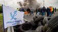 Tancat l'Eurotúnel en els dos sentits per les protestes dels estibadors francesos