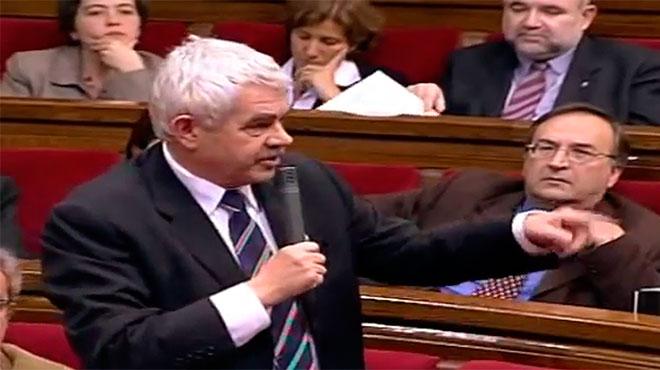 Pasqual Maragall y Artur Mas, protagonizaron el 24 de febrero de 2005 uno de los duelos dialécticos más crispados que los parlamentarios recuerdan.