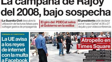 Torna la guerra de Wert i eclipsa el finançament il·lícit de les campanyes de Rajoy