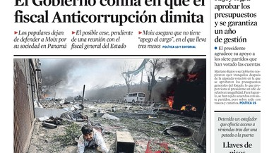 """""""A Rajoy li surten els comptes de l'Estat, i els seus"""" ('Abc') fins al 2019 encara que caigui Moix"""