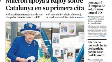 Els diaris madrilenys obvien el boicot del Govern de Rajoy als Mossos