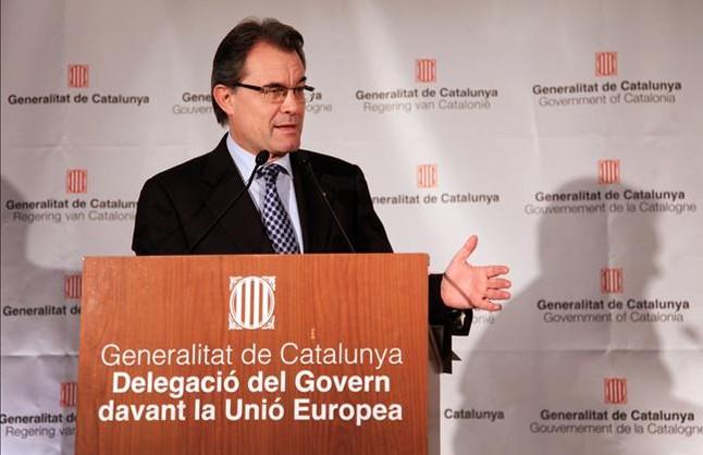 """Mas reconoce que Europa ve con """"preocupaci�n"""" un eventual estado catal�n"""