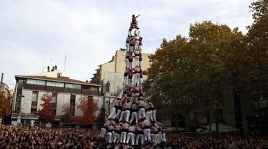 El quatre de deu amb folre i manilles de los Minyons de Terrassa, el pasado 20 de noviembre.