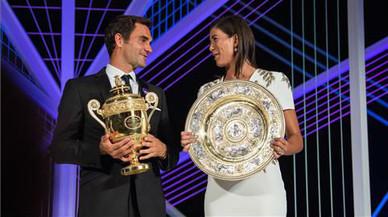 No hi va haver últim tango a Londres entre Muguruza i Federer