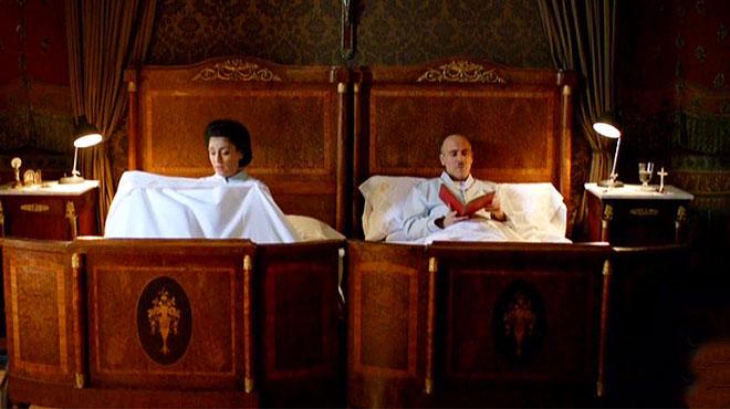 Franco i Carmen Polo, al llit
