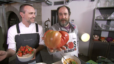 Karra Elejalde promociona la cocina española en TVE