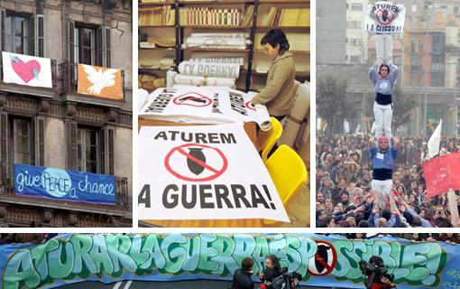 Galer�a de las protestas en BCN y Espa�a