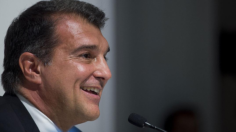 """Laporta: """"No descarto presentarme a las pr�ximas elecciones del Bar�a"""""""