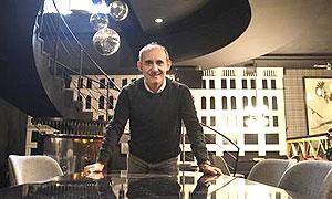 Paco P�rez, en Doble, espacio destinado a platillos del mundo y c�cteles