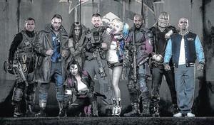 ESCUADRÓN SUICIDA Una reunión de villanos de DC Comics (5 de agosto).