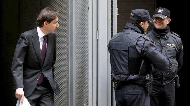 Detingut Javier López Madrid, directiu dOHL i gendre de Villar Mir
