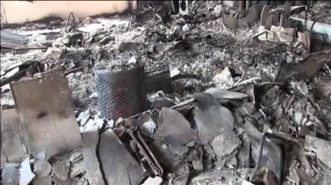 Terribles imágenes del interior calcinado de la Torre Grenfell