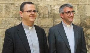 Gordo y Vadell, los dos nuevos obispos de la Archidiócesis de Barcelona.