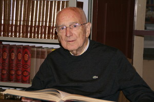 Joaquim Llovet, decano de los historiadores de Mataró.