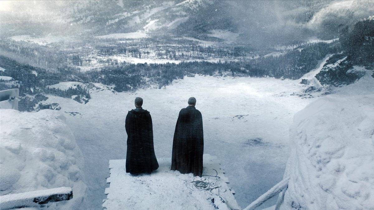 El Muro de Juego de tronos, una localización de Laponia.