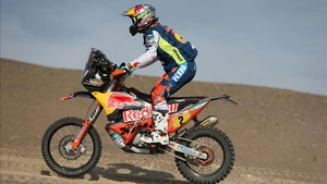 El austríaco Walkner manda en el Dakar