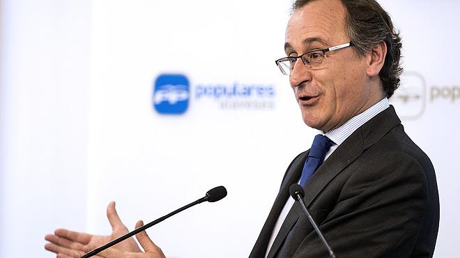 El ministre Alonso serà el candidat del PP en les eleccions basques