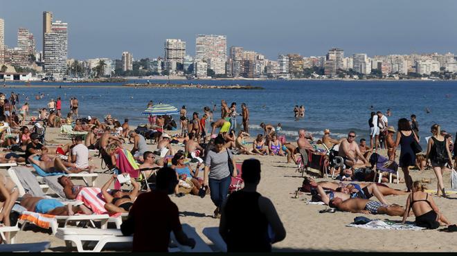 L'arribada de turistes fins al setembre apunta a un any rècord de visitants