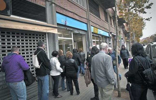 Cinco regiones espa olas registran las mayores tasas de - Oficina empleo barcelona ...