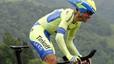 Contador es queda sol al capdavant del Giro després d'una extraordinària contrarellotge