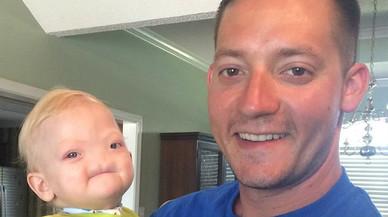 Emotivo mensaje de despedida de un padre a su bebé sin nariz