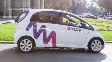 Emov ya rueda en Madrid.