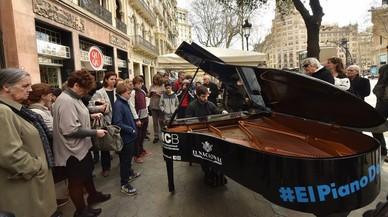 Los pianos toman las calles de Barcelona