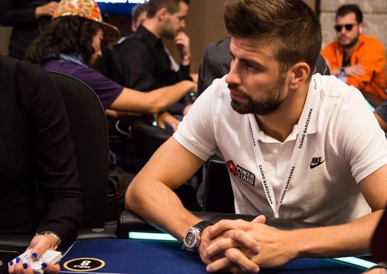 Piqué paga 25.000 euros per jugar un torneig de pòquer