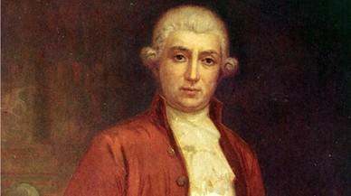 Retrato de Antoni Gimbernat, médico anatomista, cirujano y gestor de los siglos XVIII y XIX.