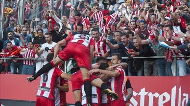 El Girona sotmet el Madrid