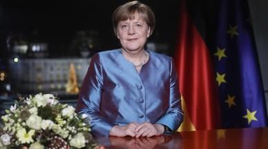 El terror gihadista marca el discurs de Cap d'Any de Merkel