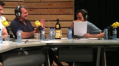 Joan Laporta, durante su intervención en el programa radiofónico 'La Sotana'.