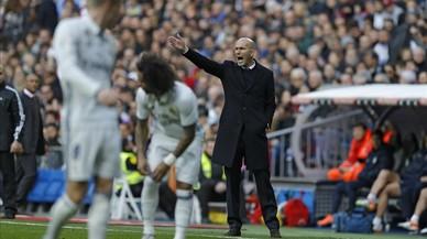 Marcelo, durante el partido del sábado ante el Málaga en el que cayó lesionado.