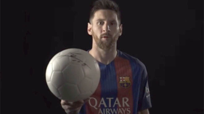 Messi y Neymar se unen a la causa de los niños refugiados que promueven el Barça y ACNUR