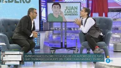 Així va ser la bronca (verbal) entre Monedero i Jorge Javier Vázquez