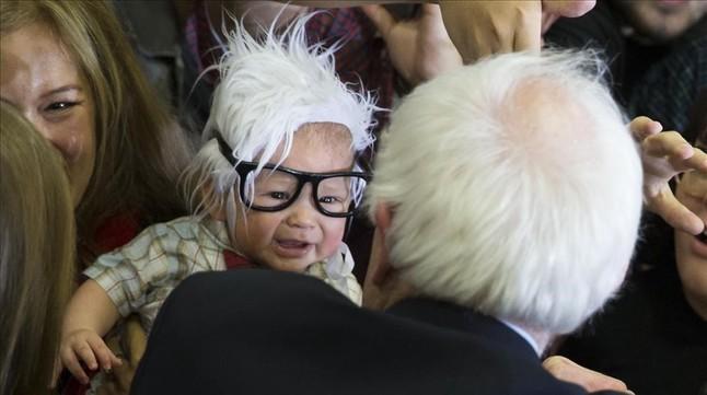 El beb� de la campa�a de Bernie Sanders, Baby Sanders, fallece de muerte s�bita