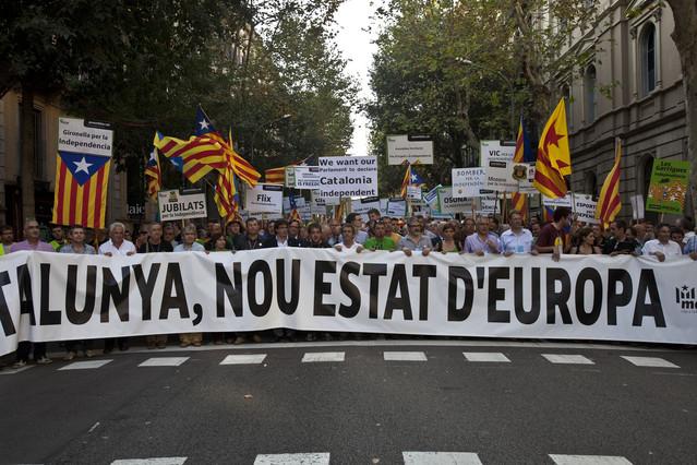 El 57% de los catalanes están a favor de que Catalunya se convierta en un nuevo Estado de la UE