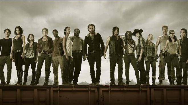 Imagen promocional de la serie de la cadena Fox 'The walking dead'.