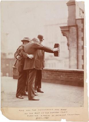 El primer 'selfie' de la historia es de 1920