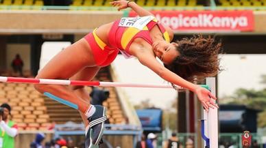 María Vicente, campiona del món juvenil en heptatló