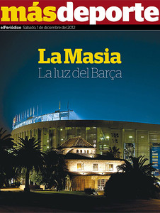 Portada del suplemento 'Ms Deporte' de este sbado.