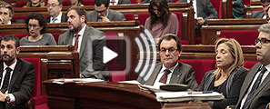 Pleno del Parlament de Catalunya
